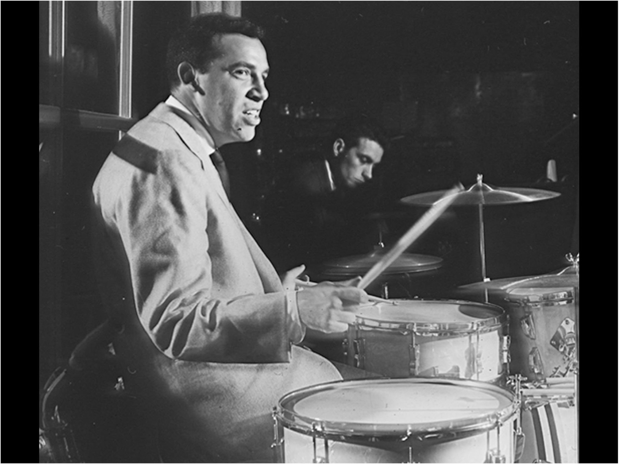 Buddy rich on drums